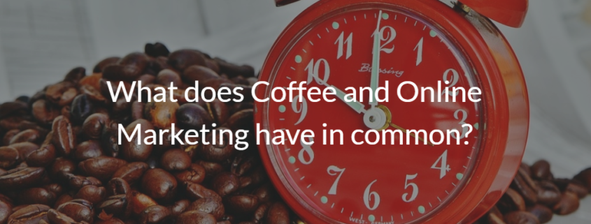 Coffee and Online Marketing article cover picture